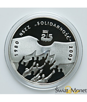 10 zł Solidarność 2005