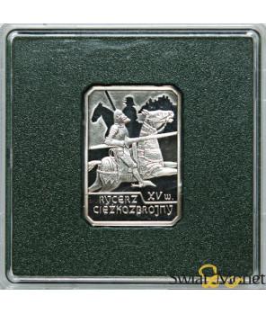 10 zl Rycerz Ciężkozbrojny 2007