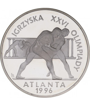 20 zł Igrzyska XXVI Olimpiady - Atlanta 1995