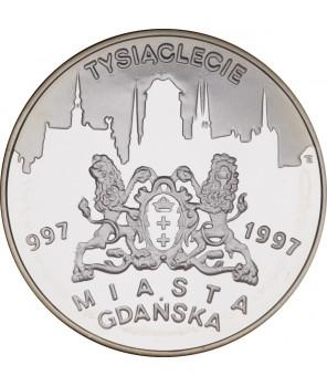 20 zł Tysiąclecie Miasta Gdańska 1996