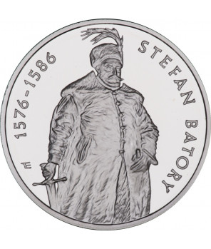 10 zł Stefan Batory półpostać 1997