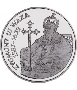 10 zł Zygmunt III Waza półpostać 1998