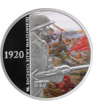 20 zł 90. rocznica Bitwy Warszawskiej 2010