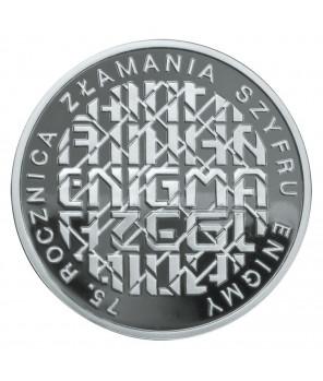 10 zł 75. rocznica złamania szyfru Enigmy 2007