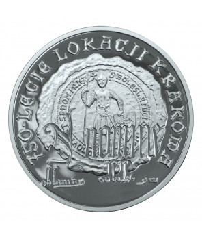 10 zł 750-lecie lokacji Krakowa 2007