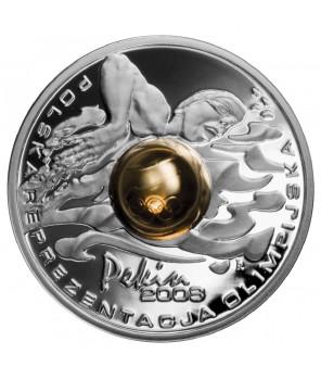 10 zł Igrzyska XXIX Olimpiady Pekin kula 2008