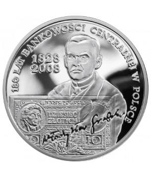 10 zł 180 lat bankowości centralnej w Polsce 2009