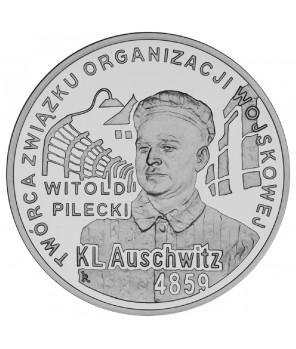 10 zł 65. rocznica oswobodzenia KL Auschwitz-Birkenau 2010