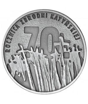 10 zł 70. rocznica zbrodni katyńskiej 2010