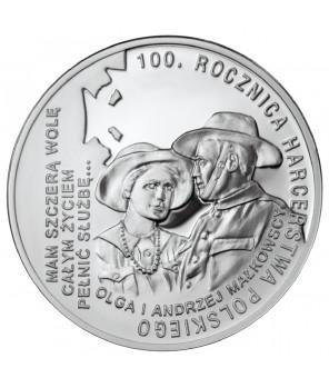 10 zł 100. rocznica Harcerstwa Polskiego 2010