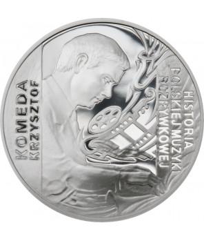 10 zł Krzysztof Komeda 2010