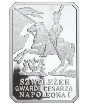 10 zł Szwoleżer Gwardii Cesarza Napoleona I 2010