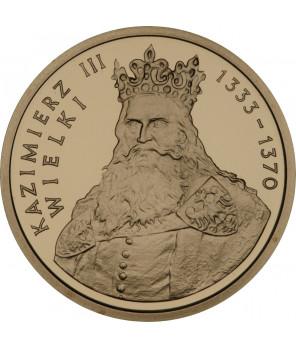 100 zł Kazimierz III Wielki 2002