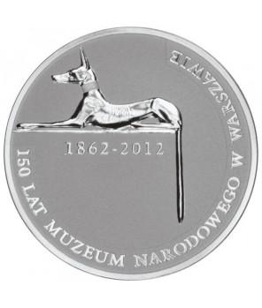 10 zł 150 lat Muzeum Narodowego w Warszawie 2012