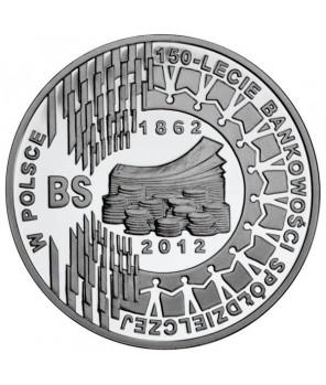 10 zł 150-lecie bankowości spółdzielczej w Polsce 2012