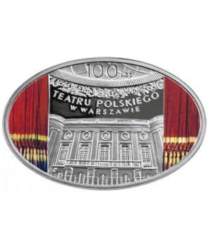 10 zł 100 lat Teatru Polskiego w Warszawie 2013