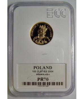 100 zł Przemysław II 2004 GCN PR70