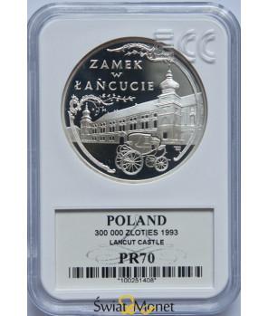 300 000 zł Zamek w Łańcucie 1993 GCN PR70