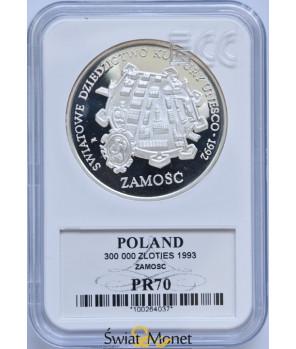 300 000 zł Zamość 1993 GCN PR70