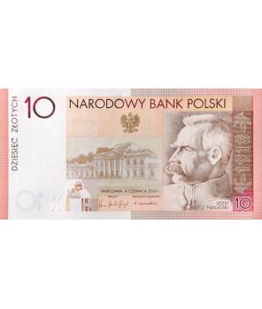 10 zł 90. rocznica odzyskania niepodległości 2008