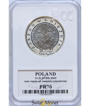 10 zł Zjazd w Gnieźnie 2000 GCN PR70