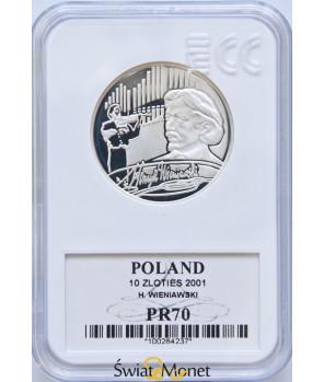 10 zl Henryk Wieniawski 2001 GCN PR70