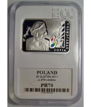 20 zł Zofia Stryjeńska 2011 GCN PR70