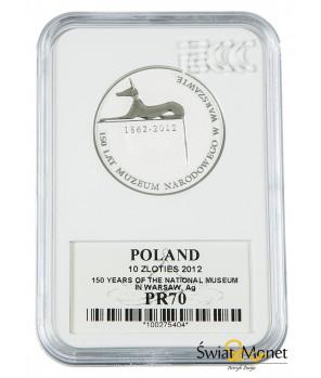 10 zł Muzeum Narodowe w Warszawie 2012 GCN PR70