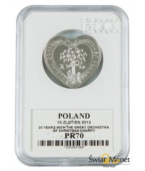 10 zł Wielka Orkiestra Świątecznej Pomocy 2012 GCN PR70