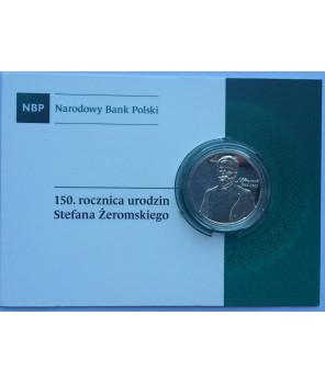 10 zł 150. rocznica urodzin Stefana Żeromskiego 2014