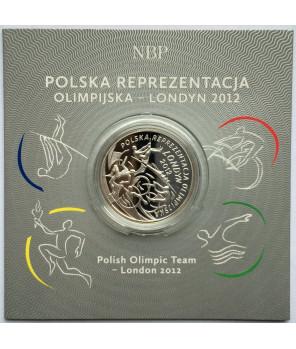 10 zł Polska Reprezentacja Olimpijska Londyn 2012