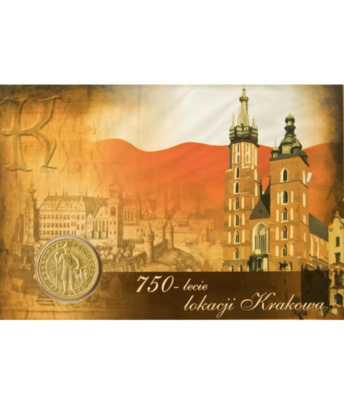 2 zł 750-lecie lokacji Krakowa 2007