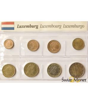 Luksemburg 2002 - zestaw euro