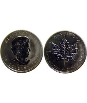 KANADA 50 DOLARÓW 2006 - PALLAD