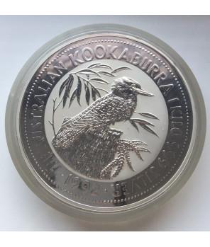 Australia - 30$ Kookaburra  1992 - 1 Kg Ag 999