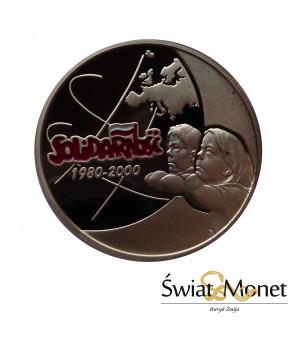 200 zł Solidarność emalia 2000