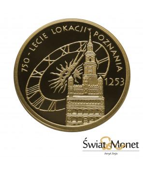 100 zł Lokacja Poznania 2003