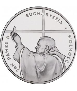10 zł Jan Paweł II Eucharystia i Wolność 1997