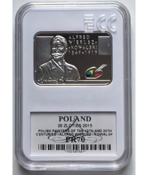 20 zł Alfred Wierusz-Kowalski 2015 GCN PR70