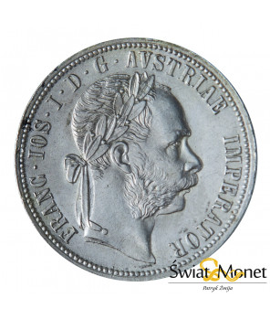 Austria 1 Floren 1889 Franciszek Józef