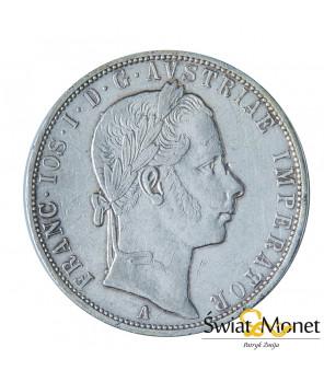 Austria 1 Floren 1858 Franciszek Józef