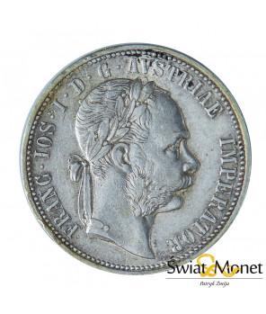 Austria 1 Floren 1875 Franciszek Józef