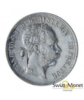 Austria 1 Floren 1880 Franciszek Józef