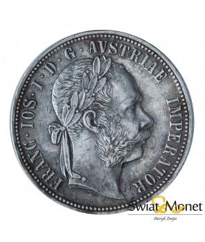 Austria 1 Floren 1885 Franciszek Józef