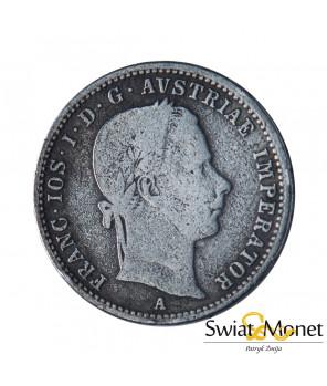 Austria 1/4 Florena 1858 Franciszek Józef