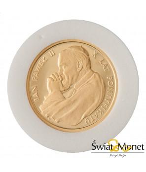 2000 zł Jan Paweł II  X lat pontyfikatu 1988