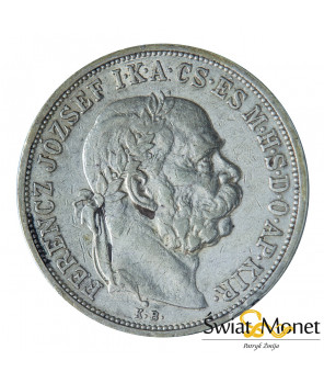 5 koron 1908 Franciszek Józef  Austro-Węgry