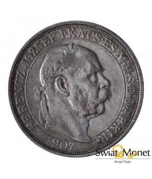 5 koron 1907 Franiciszek Józef Austro-Węgry