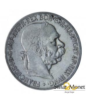 5 koron 1907 Franiciszek Józef Austria