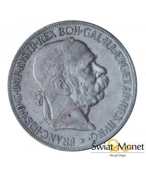 5 koron 1900 Franiciszek Józef Austria